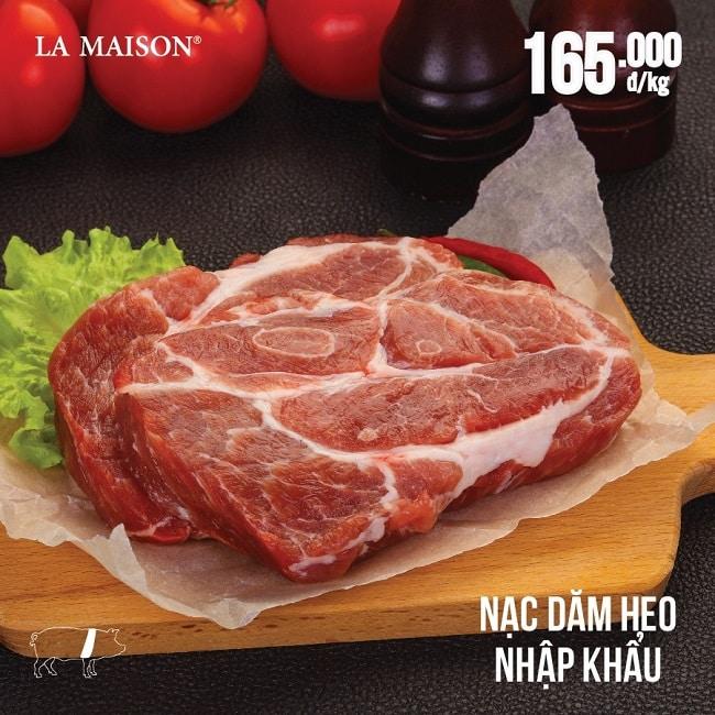 La Maison - Địa chỉ bán thịt lợn sạch TPHCM
