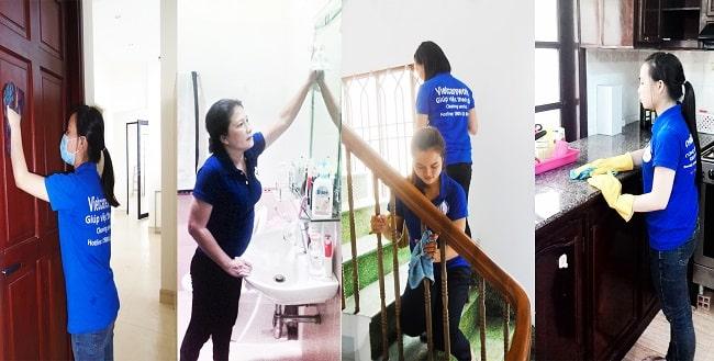 Người giúp việc tại Vietcarework