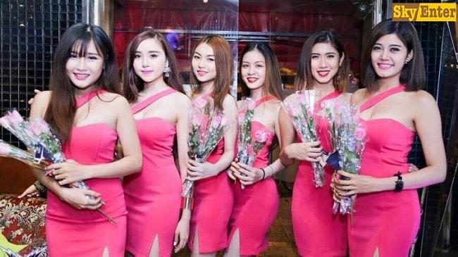 Người mẫu Sky Entertainment