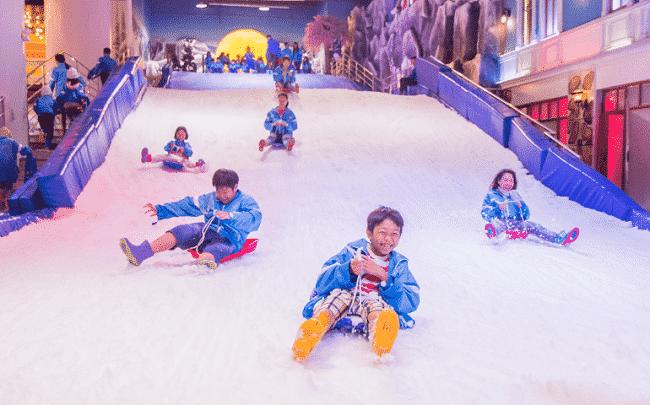 Khu vui chơi Trượt Tuyết Snow Town Sài Gòn