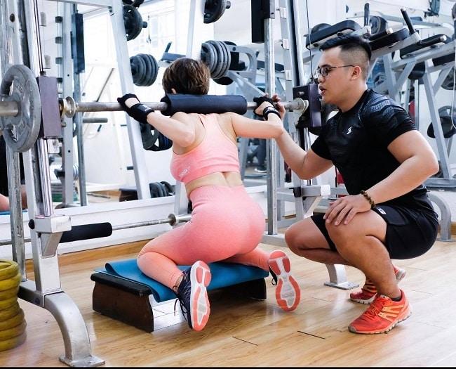 Tập gym tại Nhất Dáng Nhì Da