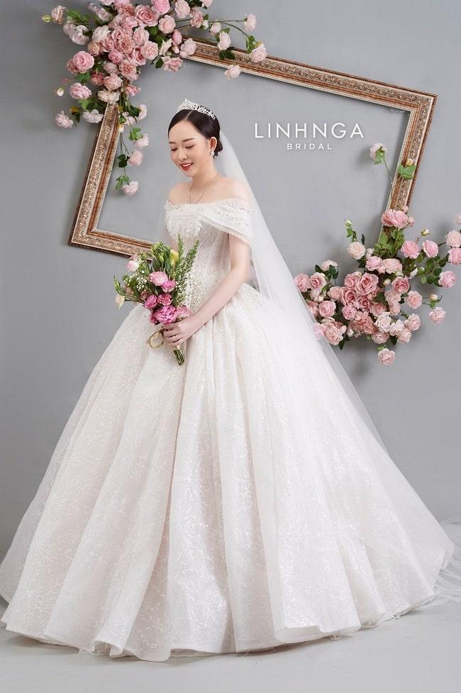 Váy cưới tại Linh Nga Bridal
