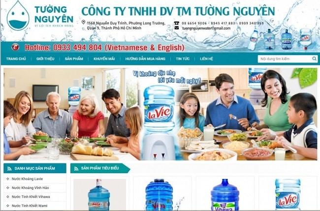 Website Tường Nguyên Water