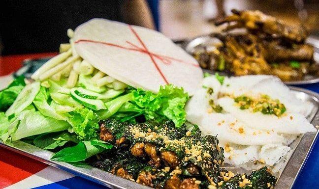 Bò Lá Lốt - Mỡ chài Thanh Vy