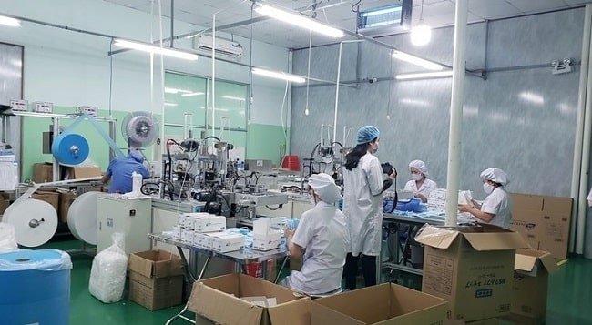 Hải Long - Công ty sản xuất khẩu trang uy tín tại Hà Nội