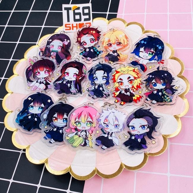 Móc khóa Anime siêu dễ thương tại T69 Shop