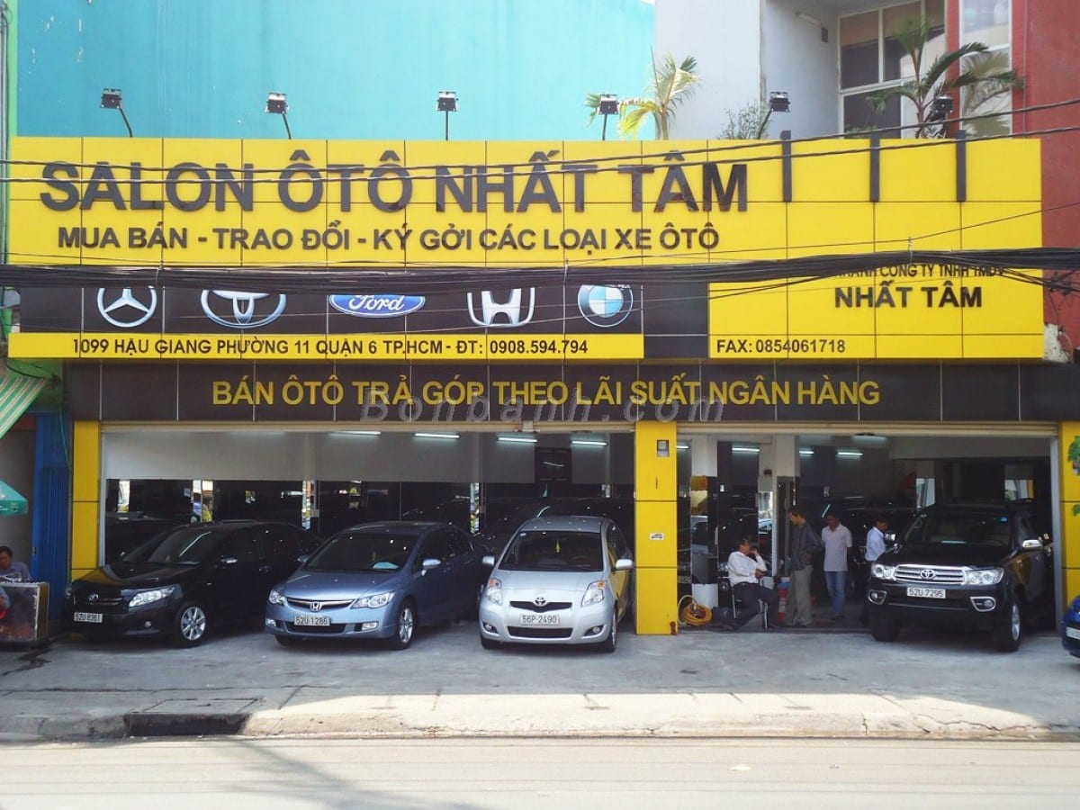 Salon Auto Nhất Tâm
