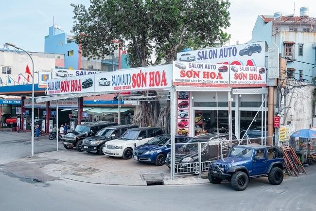 Salon Auto Sơn Hòa