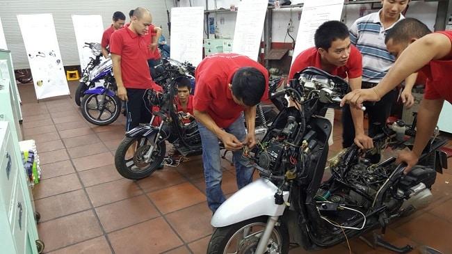 Vinhempich- Trung tâm dạy sửa chữa xe máy TPHCM