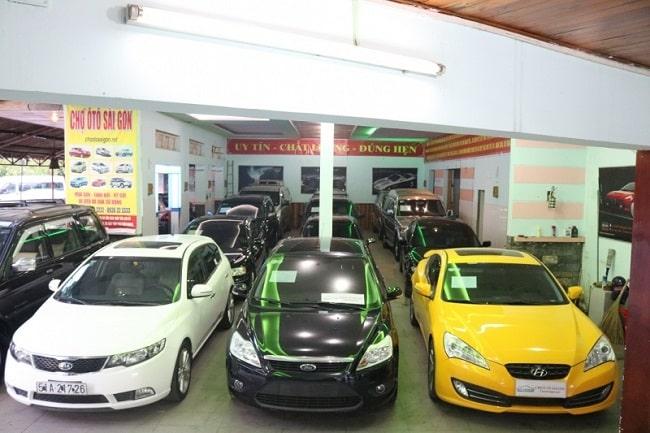 Chợ ô tô Sài Gòn