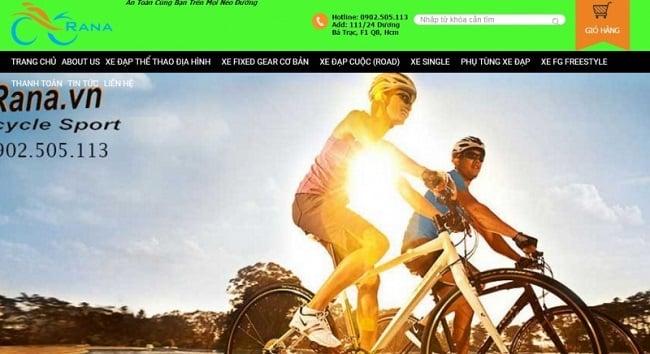 Cửa hàng xe đạp Rana