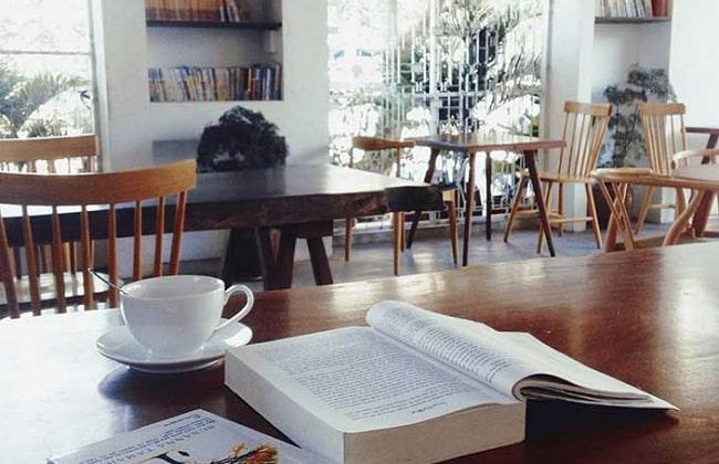 Không gian đọc sách tại An Book Cafe