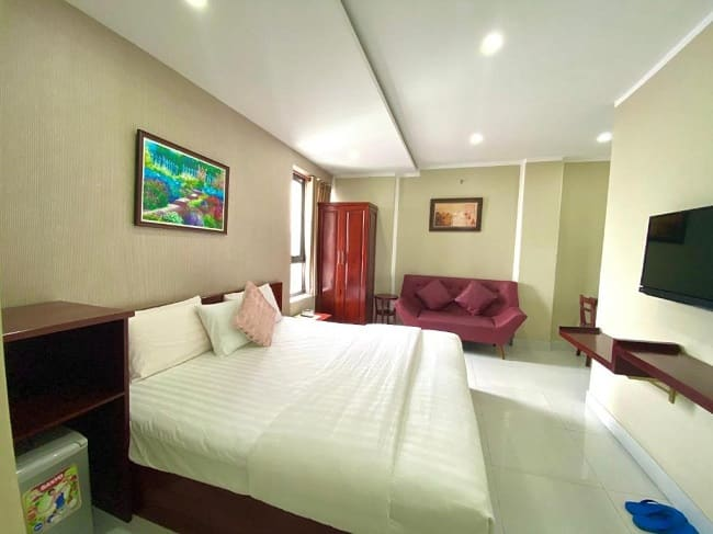 Không gian tại Mi Linh Hotel