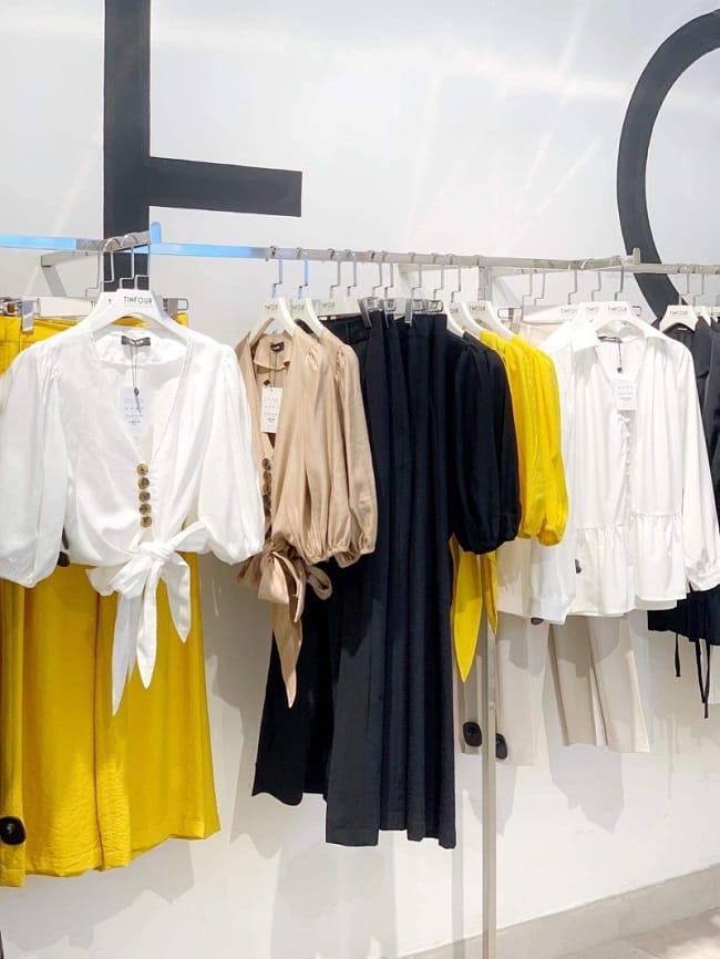 TinFour Clothing - cửa hàng bán áo Croptop ở TPHCM
