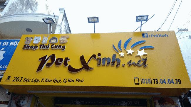 Cửa hàng thú cưng Pet Xinh