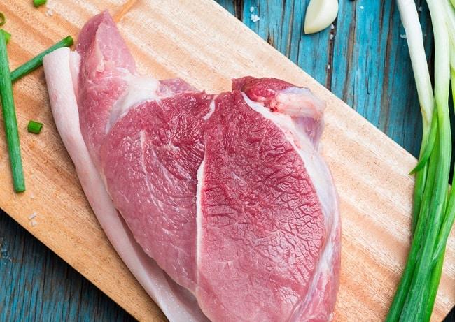 Thịt lợn tại Trâm Anh Food