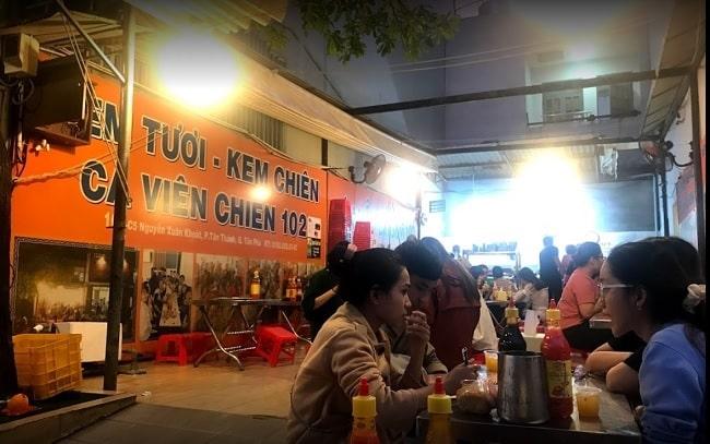 Cá viên chiên 102 - Tân Phú