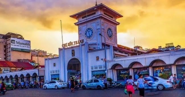 Chợ Bến Thành - Quận 1