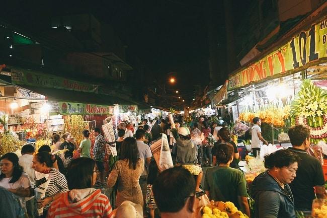 Chợ đêm Hưng Phú Quận 8