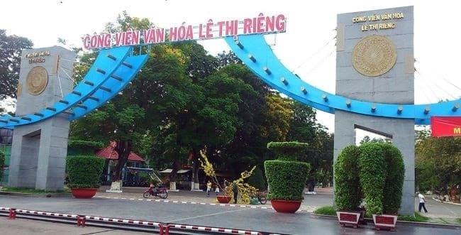 Công viên văn hóa Lê Thị Riêng - Quận 3
