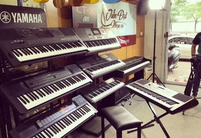 Đàn Organ tại Nhạc cụ Tiến Đạt