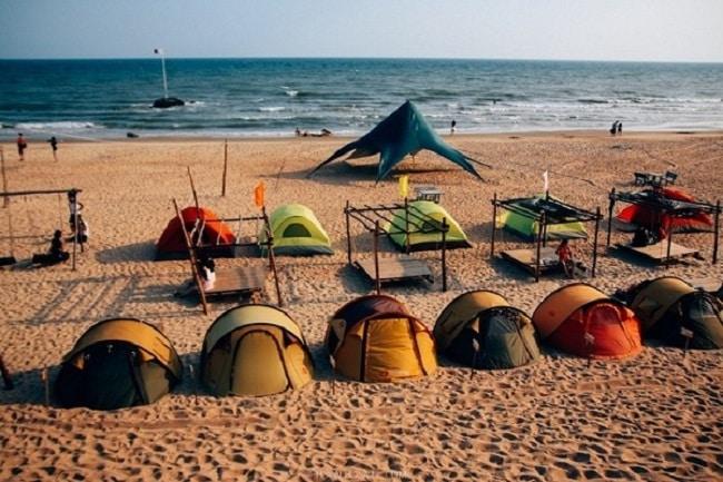 Cắm trại tại Khu cắm trại Coco Beach