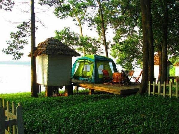 Cắm trại tại Sơn Tinh Camp