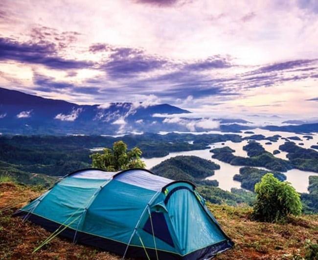 Cắm trại tại Tà Đùng - Đắk Nông