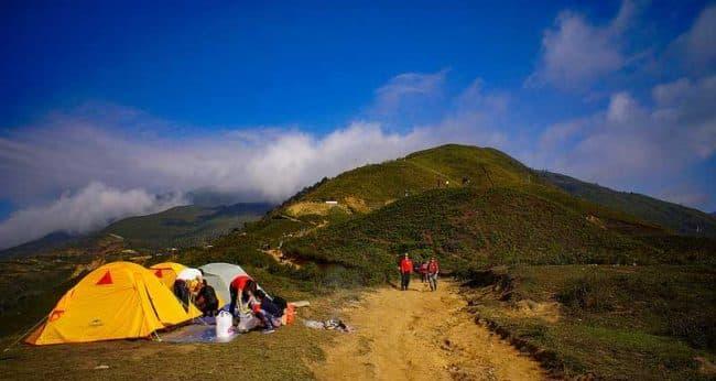 Cắm trại tại Tà Xùa