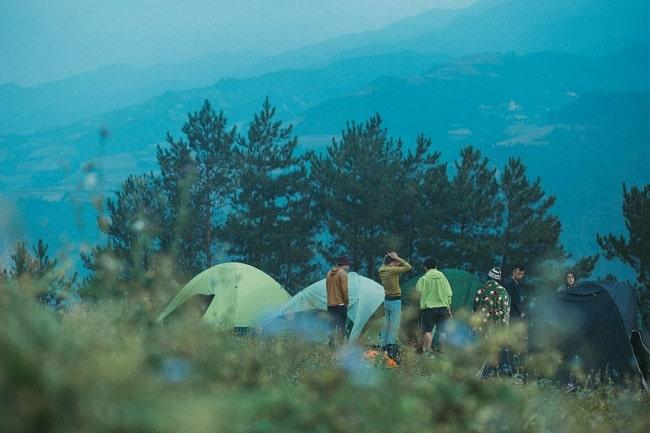 Cắm trại tại Mù Căng Chải - Yên Bái