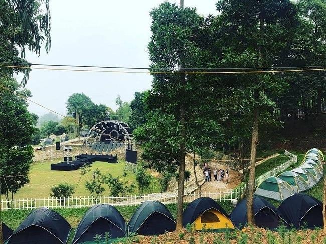 Khu cắm trại Sơn Tinh