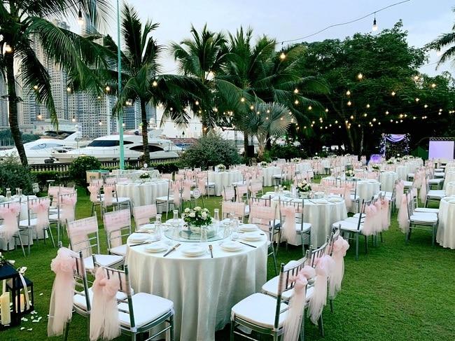Tổ chức tiệc cưới ngoài trời tại La Garden Restaurant