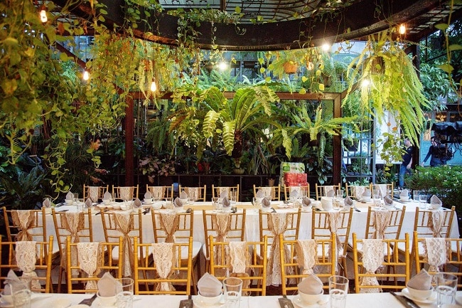 Tiệc cưới ngoài trời tại SaiGon Chic