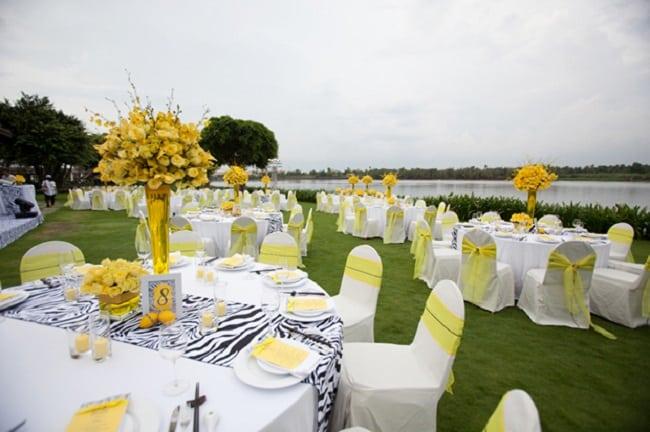 View sông tại Tiệc cưới ngoài trời tại Khu Du Lich Tân Cảng