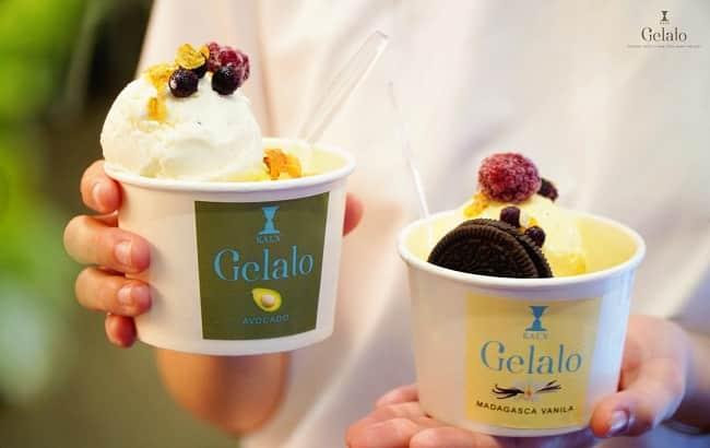 Kem gelato - Quận 3