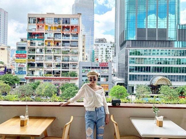 View phố đi bộ tại Haan - Drink & Eatery