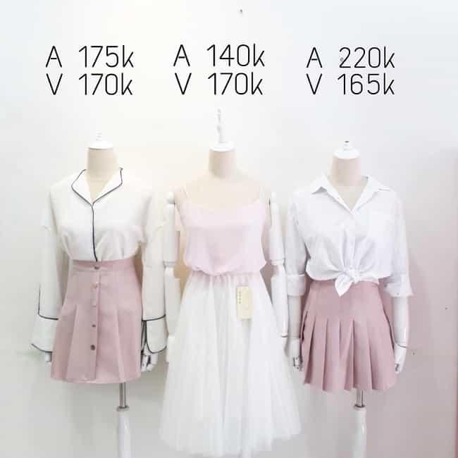 Váy tại Gemie Store