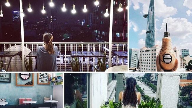 Top 6 Quán cafe view đẹp nhất ở phố đi bộ Nguyễn Huệ TPHCM