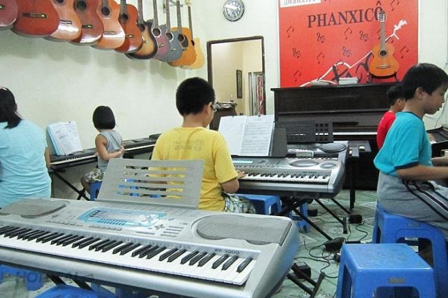 Học Organ tại Trung tâm đào tạo âm nhạc Phanxico