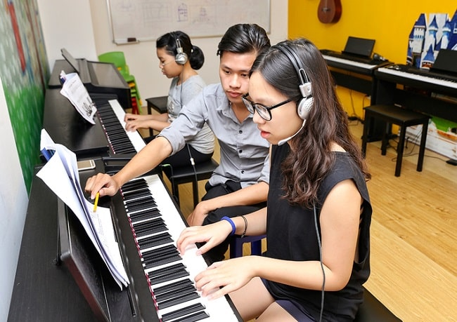 Học organ tại Việt Thanh Music School