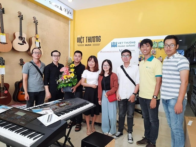 Học organ tại Việt Thương Music