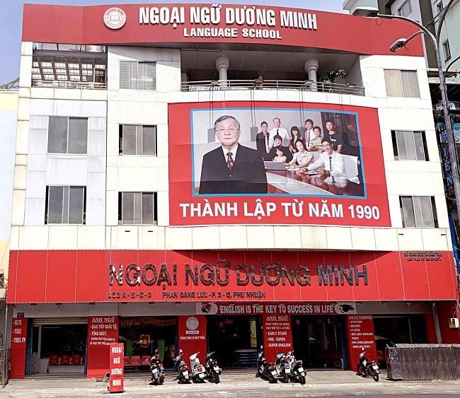 Trung tâm Ngoại ngữ Dương Minh tại Phú Nhuận