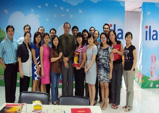 Lớp học tại Trung tâm tiếng Anh ILA