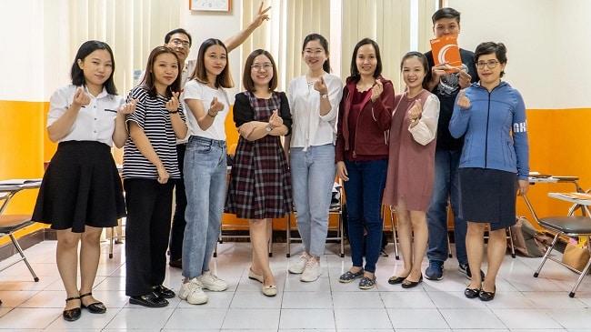Lớp học tại Trung tâm Anh ngữ Việt Mỹ (VASS)